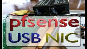 <b>pfsense</b> install with LAN/WAN USB Ethernet - Does it work? - YouTube
