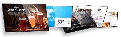 Digital Signage Solutions Menu Boards Video Walls More