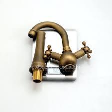 antique brass bathroom faucet. Vintage Heightening Antique Brass Bathroom Faucet Vessel Mount Inside Faucets Inspirations