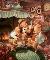 scott gustafson clic fairy tales with three little pigs