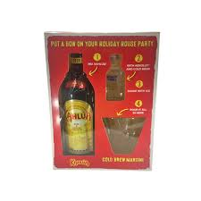 kahlua white russian gift set