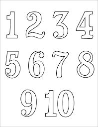 number templates 1 10 number templates 1 10 coloring pages of numbers beautiful landscapes