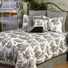 gallery of com waverly country life black king sham toile home kitchen better bedding local 16