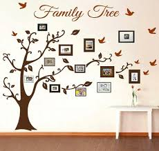 family tree wall decal picture frame