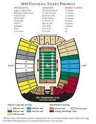 Kennesaw State Football Seating Chart Doak Campbell Stadium Seating Chart Atlanta Seminole Club