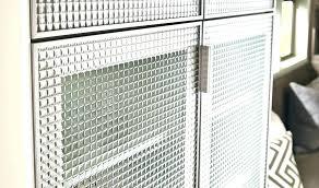 metal cabinet door inserts gl decorative