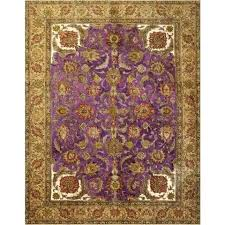 over dyed rugs x tan royal purple rug vegetable dyed rugs