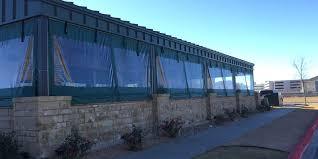 green outdoor plastic patio enclosure