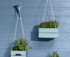 how to make a hanging herb garden the