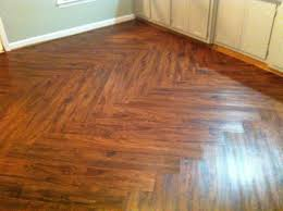 hardwood floor design patterns. Allure Cherry Vinyl Plank Flooring With Zig Zag Pattern For Small Kitchen Spaces After Remodel Ideas Hardwood Floor Design Patterns
