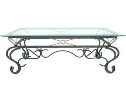 charming rod iron coffee table cool glass 6 french and living throughout design 5