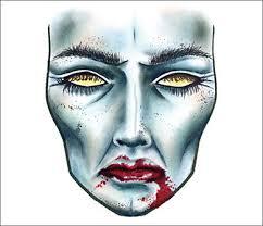 Mac Cosmetics Halloween Face Charts Mac Halloween Face Charts Zombie Becs Beauty Buzz