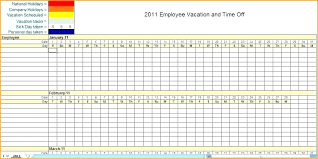 Daily Planner Spreadsheet Free Printable Employee Schedule Template