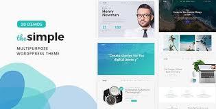 The <b>Simple</b> - Business WordPress Theme by ellethemes ...