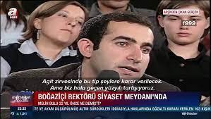 Boğaziçi Üniversitesi'nin atanan rektörü Melih Bulu'nun yıllar önceki  konuşması! - Dailymotion Video