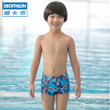 get ations decathlon children swimming trunks swimming trunks resistance to chloride boxer boy boys swim shorts fortable and
