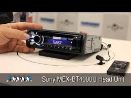 sony mex bt4000u head unit sony mex bt4000u head unit