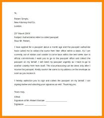Passport Authorization Letter Awesome Party Authorization I Hereby Authorize Mr To Collect Letter Passport