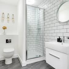 Bathroom with Wood Floor & Curbless Shower