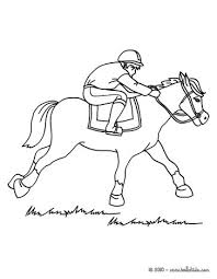 Small Picture Horse race coloring pages Hellokidscom