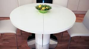 Expandable Circular Dining Table Dining Tables Two Tone Oak Extendable Round Table Extending Home