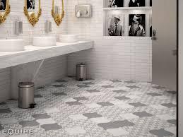 bathroom flooring tiles. View In Gallery Arabesque-tile-floor-bathroom-grey-white-8.jpg Bathroom Flooring Tiles H