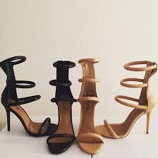 shoes nastygal stis black heels black sandals vegan leather strappy