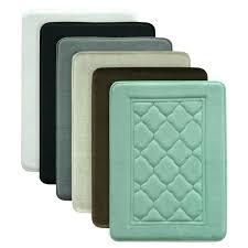 antimicrobial memory foam bath rug bathroom rugs runner