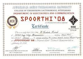 My Certificates Anweshsite