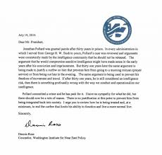 ross urges obama to rescind pollard s parole restrictions dennis ross letter to pres re parole restrictions dated