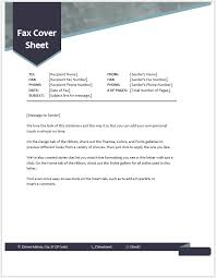 Free Printable Fax Cover Free Printable Fax Cover Sheets Template 535