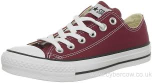 converse 8 5 womens. converse all star ox maroon womens trainers size 5 uk white / black pdijxo7r excellent quality 8 v