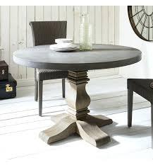 48 round concrete table top amazing round concrete dining table table designs inside concrete pedestal table