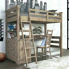 wood bunk bed with desk. Bunk Bed With Desk Loft Plans Dresser And Beds Desks Combo Pottery Barn . Wood