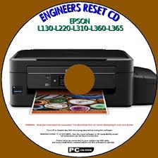 Epson L130 L220 L310 L360 L365 Printer Waste Ink Pad Counter Reset