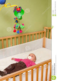 baby in crib royalty free stock images  image