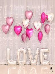 heart shaped balloon 16pcs