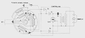 team vespa rally cdi HVAC Wiring Diagrams drawing shows the femsatronic diagram resistor \