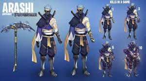 Design A Fortnite Skin My Newest Fan Skin Design Arashi Epic Games Fortnite