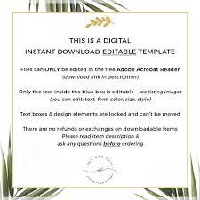 Diy Editable Menu Template Wedding Menu Template Printable Wedding Menu Card Instant Download 5x7 4x8 Burgundy Blush Marsala Kylie
