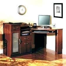 corner computer desk glass desks for home office tall ikea corn