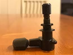 Top Locking Schaller M6 Mini Top Locking Tuners Black Reverb