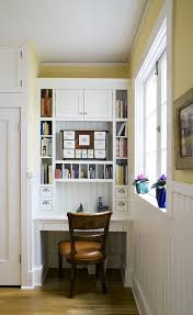 modern desk organizer in kitchen traditional with built in desk alcove alcove office