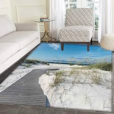 beach small rug carpet rustic beach pathway heads to the water in florida santa rosa island