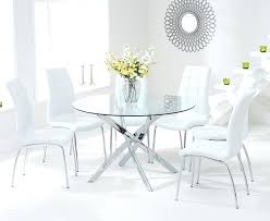 dining table glass round dining tables round glass dining table for 6 modern glass dining table