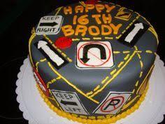 12 Boys 16th Birthday Cakes Driving Photo 16 Year Old Birthday