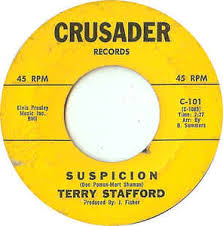 Image result for Suspicion - Terry Stafford