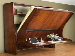 Diy Wall Bed With Desk 10 Desk Murphy Beds Space Saving Ideas And