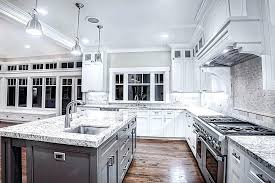 kitchen ideas for white cabinets and with backsplash black granite countertops