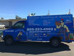 plumber oxnard ca. Unique Oxnard Service Vehicle For Absolute Plumbing And Rooting In Plumber Oxnard Ca